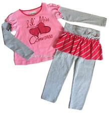 CONVERSE FASHIONS - Toddler girls 2 pc outfit, size 4T, NWT