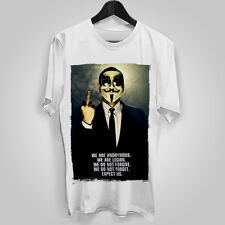 MENS T SHIRT anonymous POLITICAL statement Oppressed FREE SPEECH tyranny