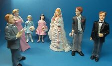 12th scale dolls house  resin dolls wedding day scene 7 characters to choose.
