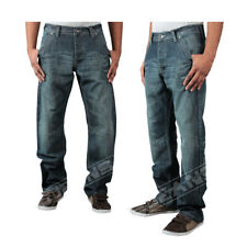 NEW MENS ENZO  STRAIGHT LEG STONE WASH JEANS CHAEAP    SALE PRICE   28-42