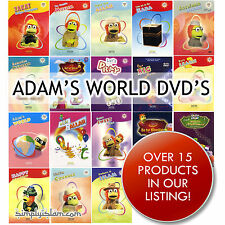 Islamic Children's DVD. Adams World series. 16 DVDs. Including Qaf for Quran.