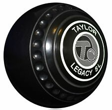 Taylor Legacy Slimline Heavy Weight Black Bowls - 135-4