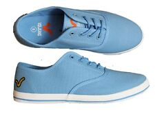 BRAND NEW MENS VOI JEANS FIERY WASHED BLUE PLIMSOLLS CANVAS FOOTWEAR ALL SIZE