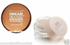 MAYBELLINE DREAM MOUSSE BRONZER or SHIMMER  CHOOSE YOUR COLOR