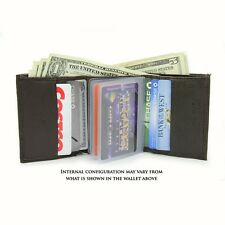 Official NFL Brown Leather Wallet