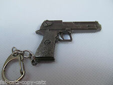 REPLICA DESERT EAGLE USA ISRAEL HAND GUN PISTOL REVOLVER COLLECTABLE KEYRING UK
