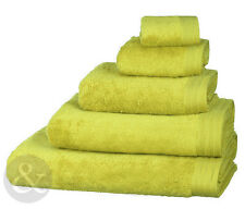 Lime Green Luxury Egyptian 100% Combed Cotton Towels - Super Soft Quality Towel