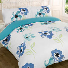 FLORAL DANA DUVET COVER BED SETS - PILLOWCASES AVAILABLE - MANY COLOURS