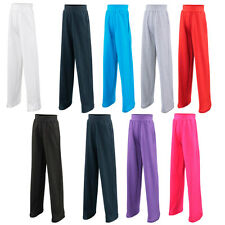 New JUST HOODS Childrens Kids Fashion Jogpants Trousers in 8 colours 5-13 years
