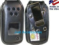 Leather AT&T Samsung A847 Rugby2 A837 Rugby Rugged Belt Clip Holster Case