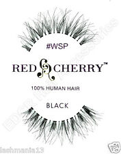 Red Cherry 100% HUMAN HAIR False Lashes **THE BEST Natural Looking Styles**