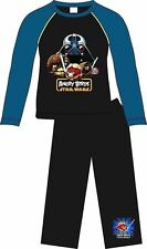 Angry Birds Star Wars Black Pyjamas Age 3-10 Years Available