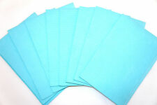 500 case Blue medical Dental tattoo paper towel bibs tissue 3-Ply 13x18 USA Fast