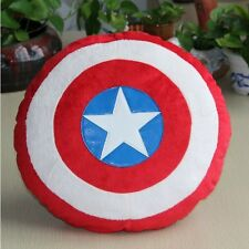 The Captain America Shield Bed Sofa Car Throw Lumbar Pillow Cushion Support Gift