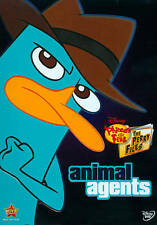 Phineas and Ferb:The Perry Files - Animal Agents Disney (DVD,SlipCover 2013)