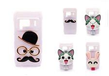 Cute Special Glossy White Back Case Cover for Nokia N8 Different Styles 4 You