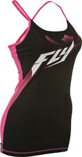 Girls Fly Racing Halftone Cami Tanktop Spagetti Strap Pink Black Dirt BIke MX