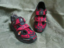 Star Wars by Stride Rite Darth Maul Toddler Sandals Shoes Black Red Light up NEW