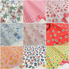FAT QUARTERS baby/childrens/ fun  POLYCOTTON fabrics/material 20 x 22 inches