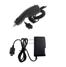 Wall Home AC + Car Adapter for Pantech Duo Matrix Pursuit Breeze Escapade Blitz