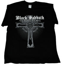 BLACK SABBATH SHIRT The Rules of Hell MOB LIVE EVIL DEHUMANIZER GRAVE KNIGHT DIO