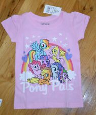 NWT My Little Pony Pink Sparkle T-Shirt Top Pinkie Rainbow 12 18 24 mos 3T 4T 5T