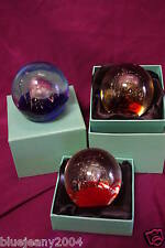 Glass Paper Weight Paperweight In A Choice Of  Colours