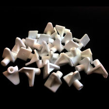 WHITE PLASTIC 5mm (M5) SHELF SUPPORT STUD PEGS KITCHEN CABINETS IKEA PLUG IN