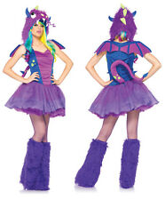 Sexy Purple Darling Dragon Womens Halloween Costume