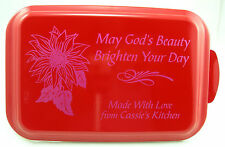 Personalized Engraved Aluminum Cake Pans Custom Baking Cooking Dessert Serving