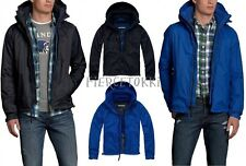 2013 Abercrombie & Fitch Mens A&F Active Jacket Hoodie Navy blue