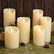 Reallite Real Genuine Wax Flicker Flameless LED Candle Moves Randomly
