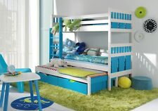 BUNK BED WITH PULL OUT GUEST BED/3in1/WITH MATTRESS/CHILDRENS FURNITURE/JS24