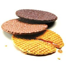 Toffee or Chocolate Tregroes Waffles Biscuits Stroopwafels 270g Syrup Wafers