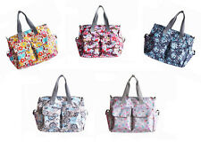 NEW 5pcs Fashion Baby Diaper Nappy Changing Bag fit stroller Free Shipping ld8