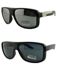 Mens Womens Large Sport Mirror Vintage Free Hard Case Sunglasses-140 3 Colors
