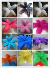 Beautiful 10/50/100pcs natural ostrich feathers 12-14inch variety of colors