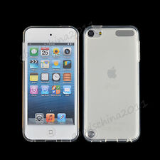 Transparent Clear Crystal Soft Silicon Gel Cover Case Skin fr Apple Ipod Touch 5