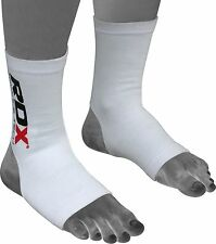 RDX Ankle Foot Support Anklet Pads MMA Brace Guard Gym Sport Socks Protector US