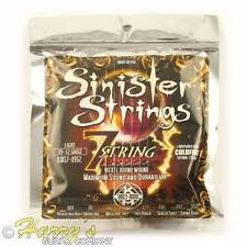 Kerly Sinister 7 | Nickel Plated CYCLECOAT Tempered | Electric Guitar Strings