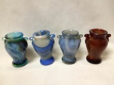 BOYD GLASS MINI VASE TOOTHPICK HOLDER CHOICE OF COLORS PRICE & SHIPPING REDUCED