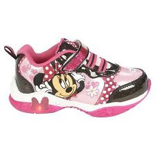 Disney Minnie Mouse Bowtique Light-up Sneakers Shoes Sizes 10 11 12 NWT