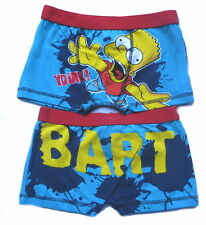 The Simpsons Bart Boys Boxer Shorts Age 5-12 Years