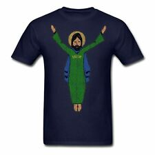 TOUCHDOWN JESUS VINTAGE STYLE T-SHIRT - NOTRE DAME FIGHTING IRISH FOOTBALL