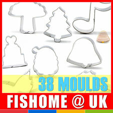 Cake Mold Cookie Biscuit Fondant Stainless Steel Mould Tool Cutter Decorating