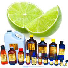 Lime Essential Oil Pure Uncut Sizes from 3ml to 1 Gallon