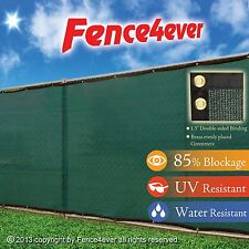 Green 4'x50' 4ft Fence Windscreen Privacy Screen Fence Cover Mesh Fabric Patio