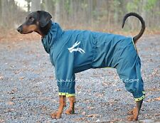 Hurtta Slush Combat Suit, Waterproof Overalls for dogs, keeps dogs clean and dry