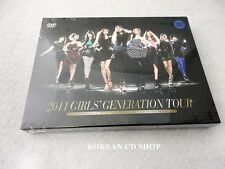SNSD Girls' Generation 2011 GIRLS'GENERATION TOUR DVD+Photobook+POSTER+FREE GIFT