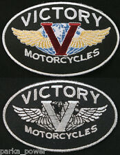 Victory Motorcycles patch, badge, biker, iron on